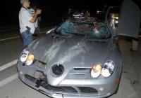 A Mercedes que Thor Batista dirigia